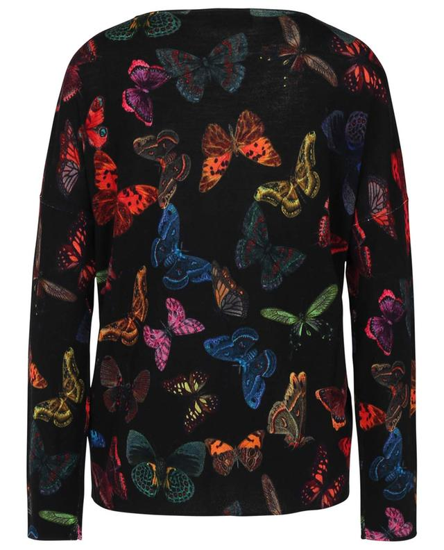 Butterfly printed loose thin jumper PRINCESS