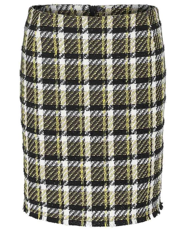 Minijupe en tweed à carreaux AKRIS PUNTO