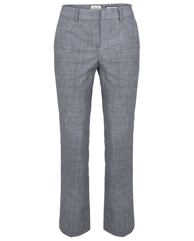 Pantalon droit raccourci en gabardine stretch Anni SEDUCTIVE