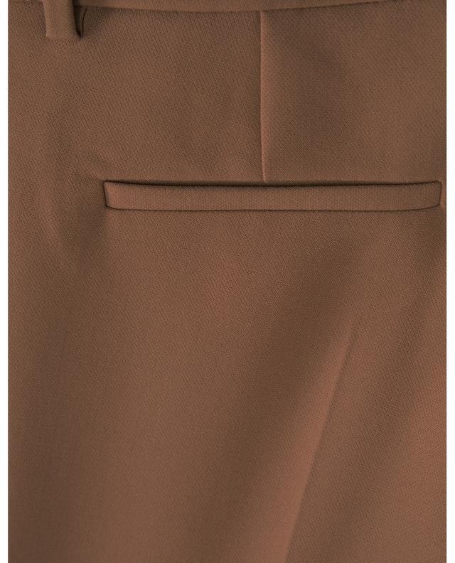Leni viscose and cotton blend slim fit trouers SEDUCTIVE