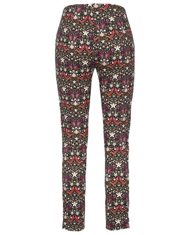 Pantalon skinny en jersey stretch imprimé paradis Sabrina SEDUCTIVE