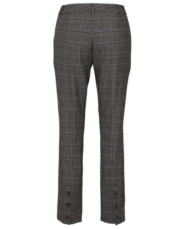 Pantalon à carreaux en viscose et laine mélangées Anica SEDUCTIVE