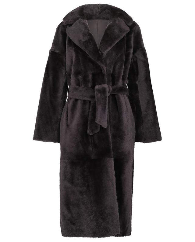 Manteau long réversible en shearling SUPREMA