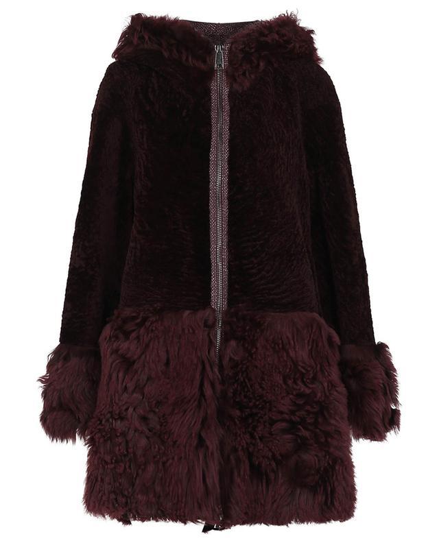 Manteau mi-long en shearling SUPREMA