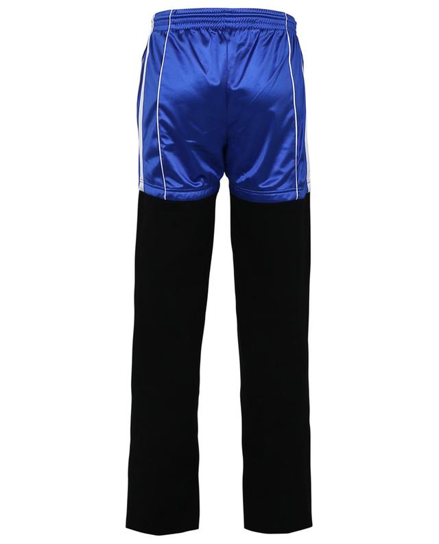 Patch jogger cotton and sports jersey trousers BALENCIAGA