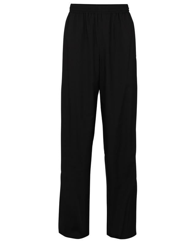 Monogrammed nylon wide-leg track trousers BALENCIAGA