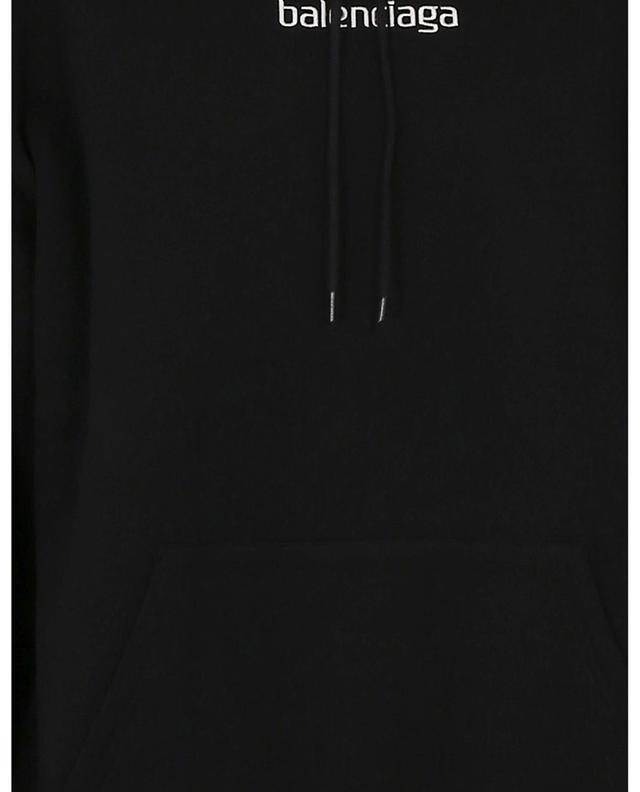 Sweat-shirt à capuche brodé Sponsor Medium Fit BALENCIAGA