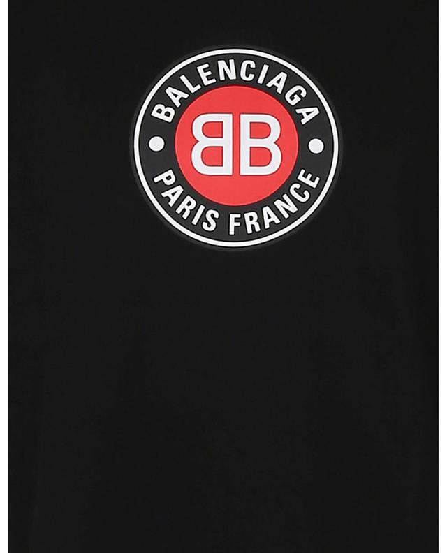T-shirt imprimé logo esprit football BALENCIAGA