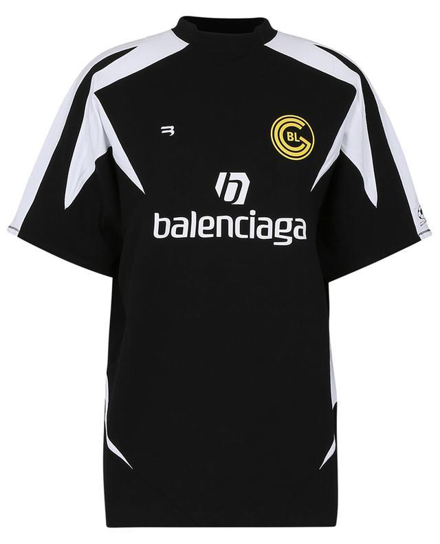 Soccer football jersey spirit oversize T-shirt BALENCIAGA