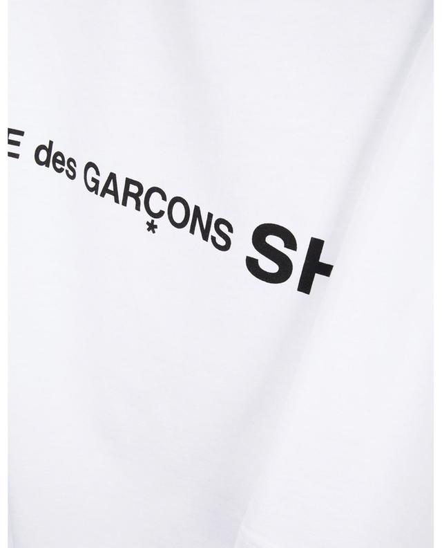 T-shirt à manches longues en coton imprimé COMME DES GARCONS SHIRT