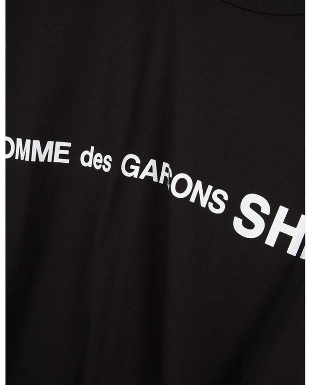 T-shirt à manches courtes en coton imprimé COMME DES GARCONS SHIRT