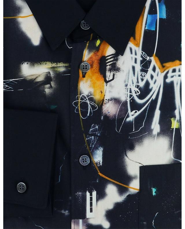 Chemise en coton imprimée graffitis Futura COMME DES GARCONS SHIRT