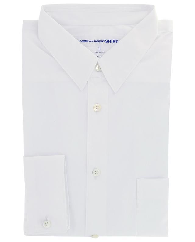 Chemise à manches longues en popeline à poche poitrine COMME DES GARCONS SHIRT