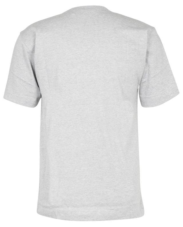T-shirt à manches courtes imprimé logo renversé et coeur COMME DES GARCONS PLAY