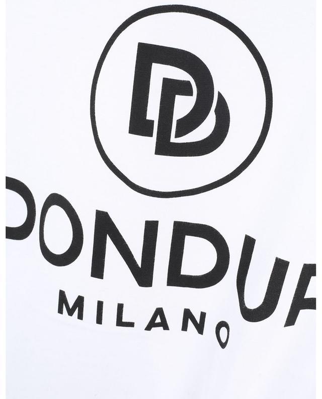 T-shirt à manches courtes en jersey Milano imprimé logo DONDUP