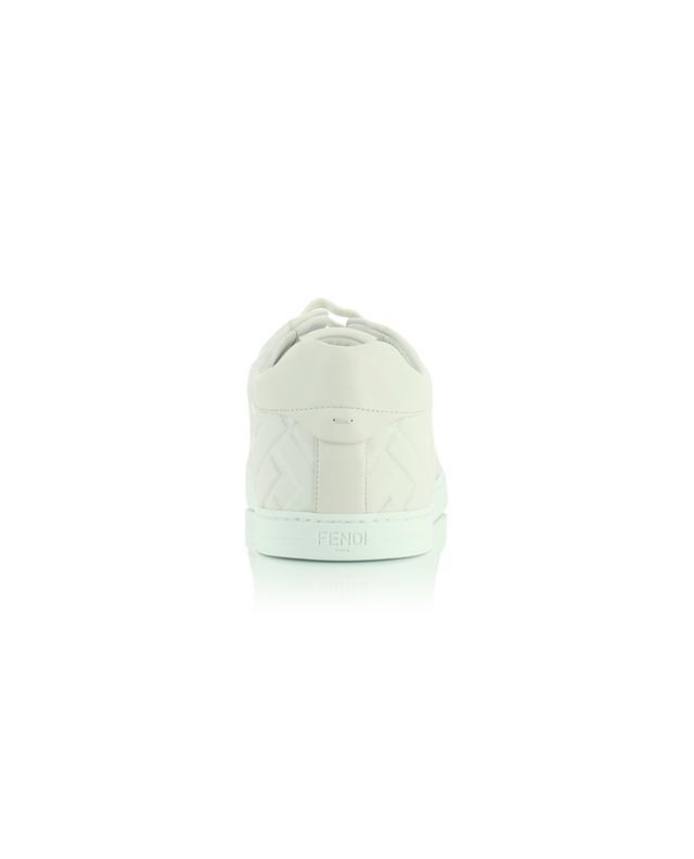 Baskets en cuir nappa avec monogramme FENDI