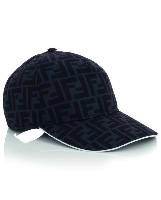 FF printed canvas baseball cap FENDI