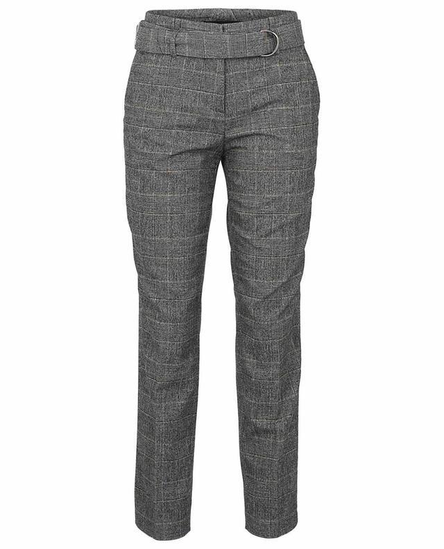 Pantalon fuselé raccourci motif prince-de-galles Kaia CAMBIO
