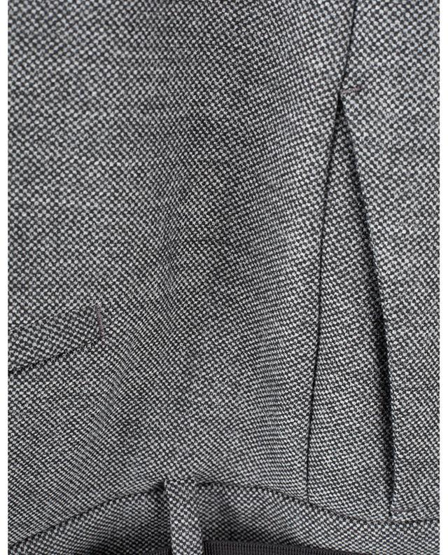 Pantalon large raccourci en tweed avec ceinture Claire CAMBIO