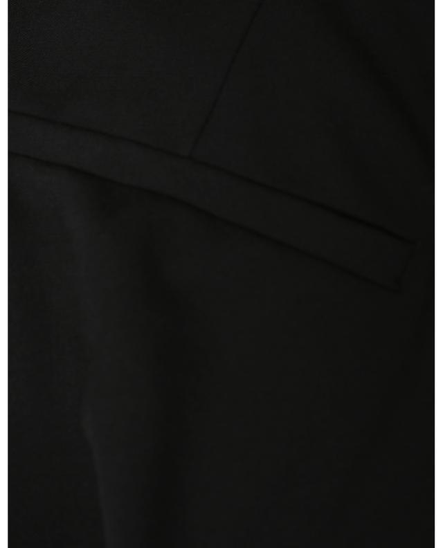 Pantalon droit en sergé avec ceinture Selina CAMBIO