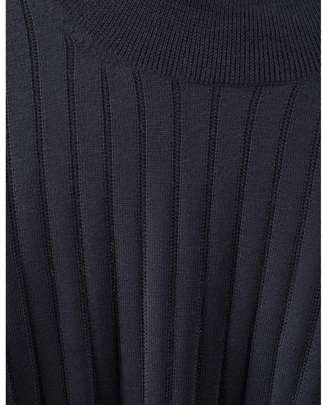 Pull à col roulé côtelé en laine vierge BONGENIE GRIEDER