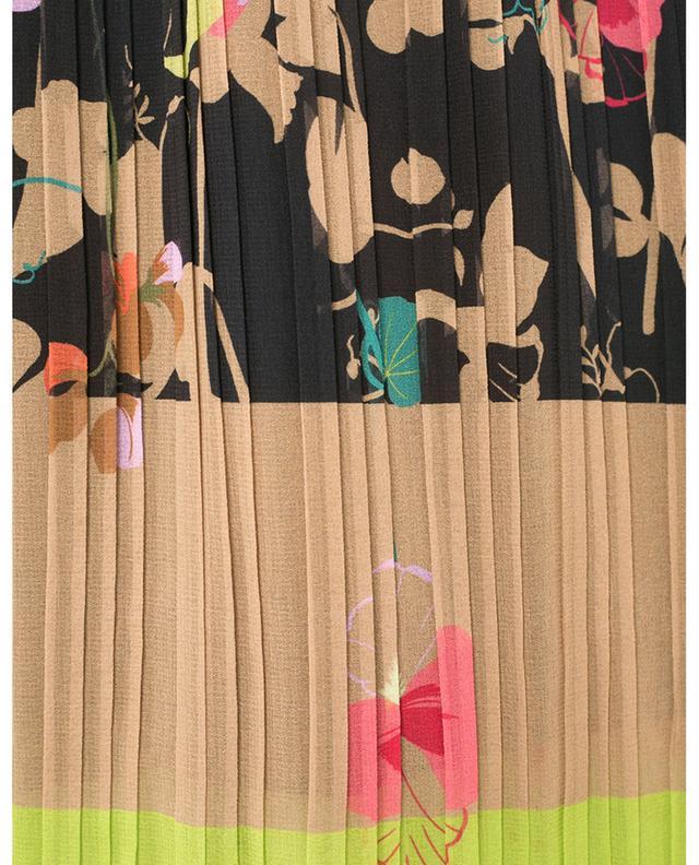 Jupe plissée à imprimé fleuri MARC CAIN