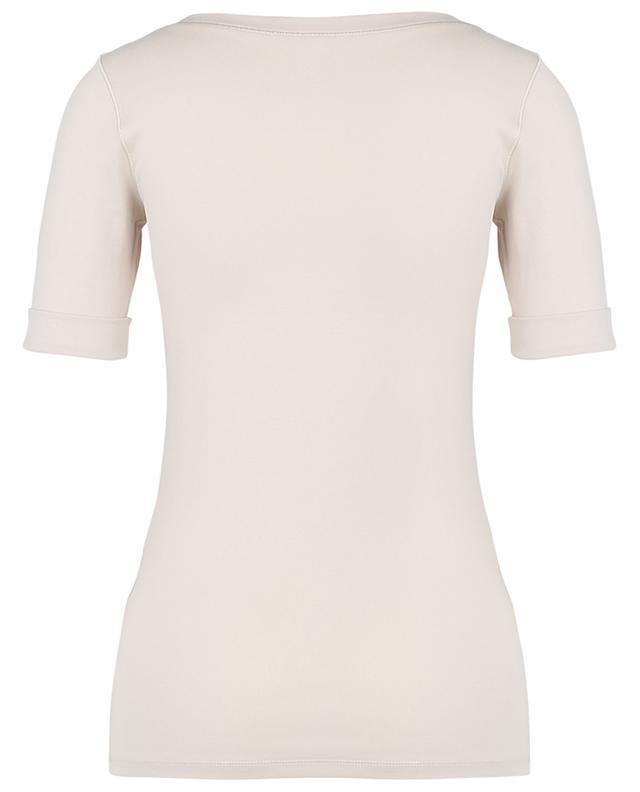 T-shirt cintré à col rond en jersey stretch MARC CAIN