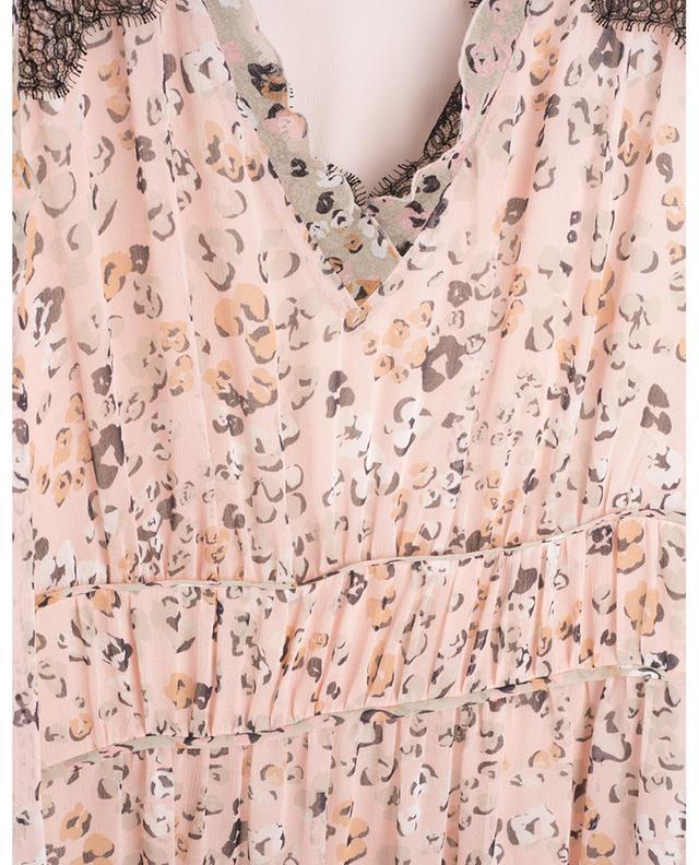 Robe empire midi en georgette fleurie MARC CAIN