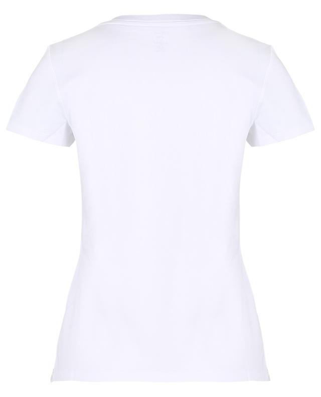 T-shirt en coton imprimé chien MARC CAIN