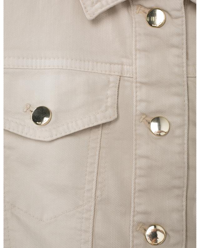 Veste en jean ajourée en coton MARC CAIN