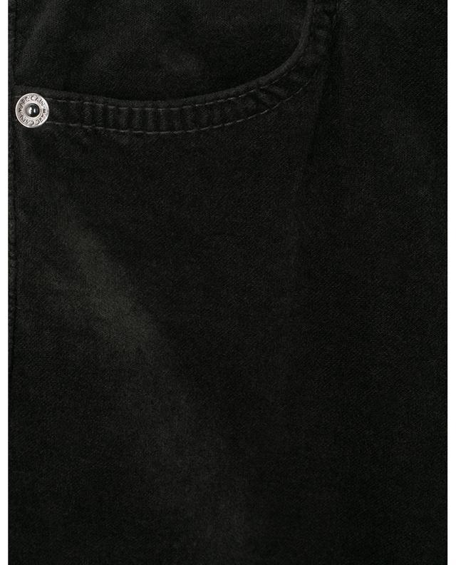 Pantalon skinny velouteux à taille haute MARC CAIN
