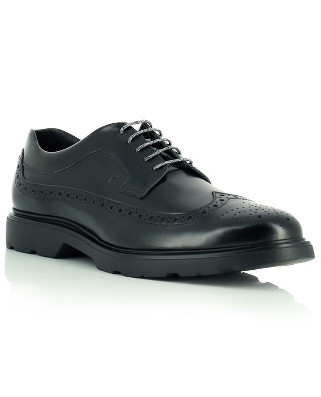 Route smooth leather derby shoes HOGAN