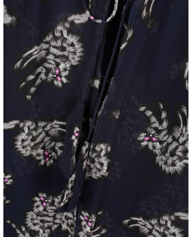 Robe tunique courte imprimée chat Drapy Mix DOROTHEE SCHUMACHER