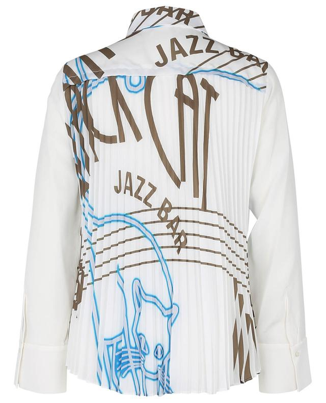 Chemise en soie détail plissé imprimé Jazz Bar DOROTHEE SCHUMACHER