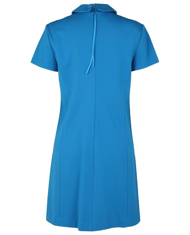 Robe shift courte à col chemise en Punto Milano Emotional Essence DOROTHEE SCHUMACHER