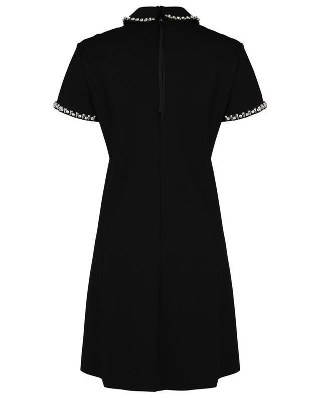 Robe shift courte embellie de cristaux Emotional Essence DOROTHEE SCHUMACHER