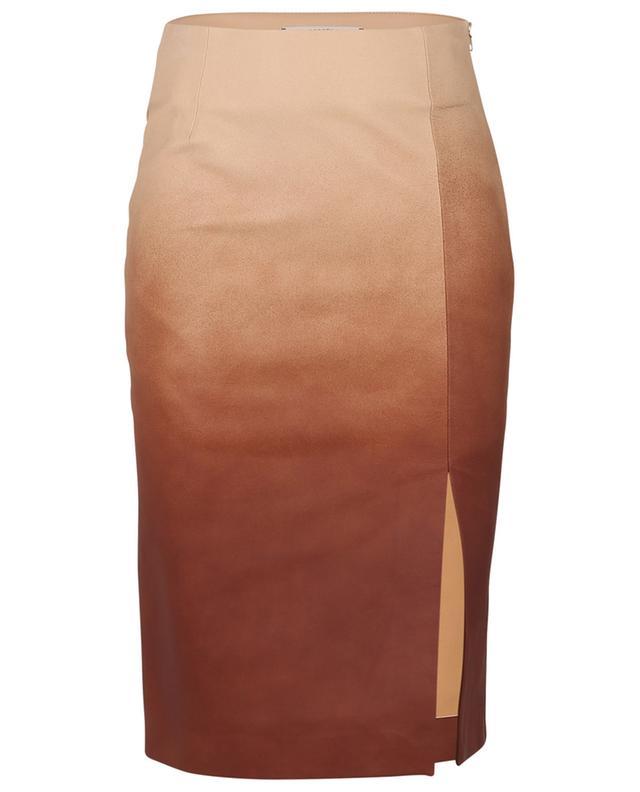 Dégradé Softness nappa leather pencil skirt DOROTHEE SCHUMACHER
