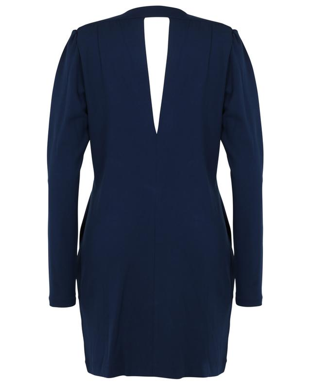 Soft Essence short V-neck jersey dress DOROTHEE SCHUMACHER