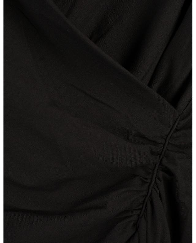 T-shirt à manches longues et col V drapé Fascinating Drapes DOROTHEE SCHUMACHER