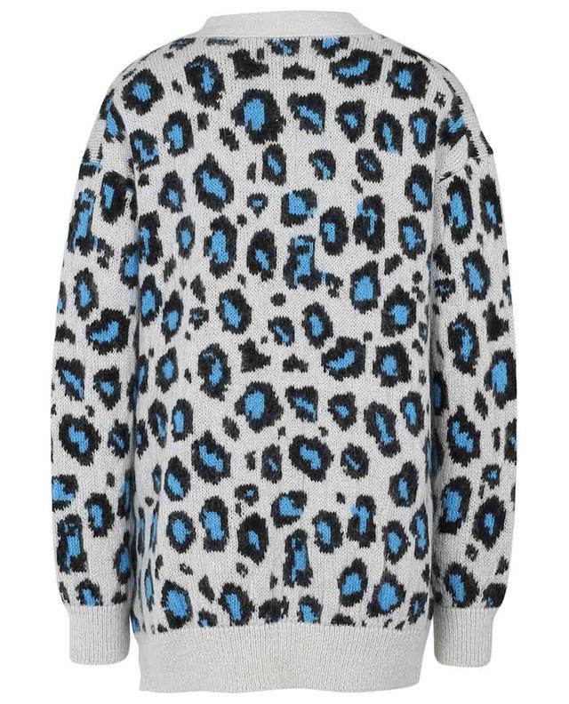Cardigan ample jacquard motif léopard Wild Softness DOROTHEE SCHUMACHER