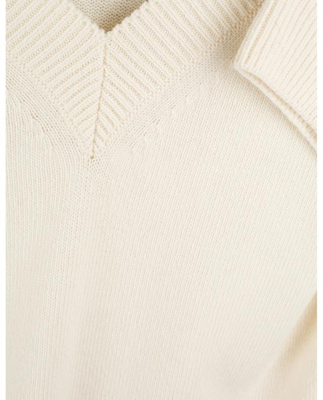 Timeless Ease loose V-neck jumper with three-quarter sleeves DOROTHEE SCHUMACHER
