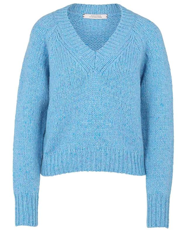 Heavenly Touch boxy V-neck cashmere jumper DOROTHEE SCHUMACHER