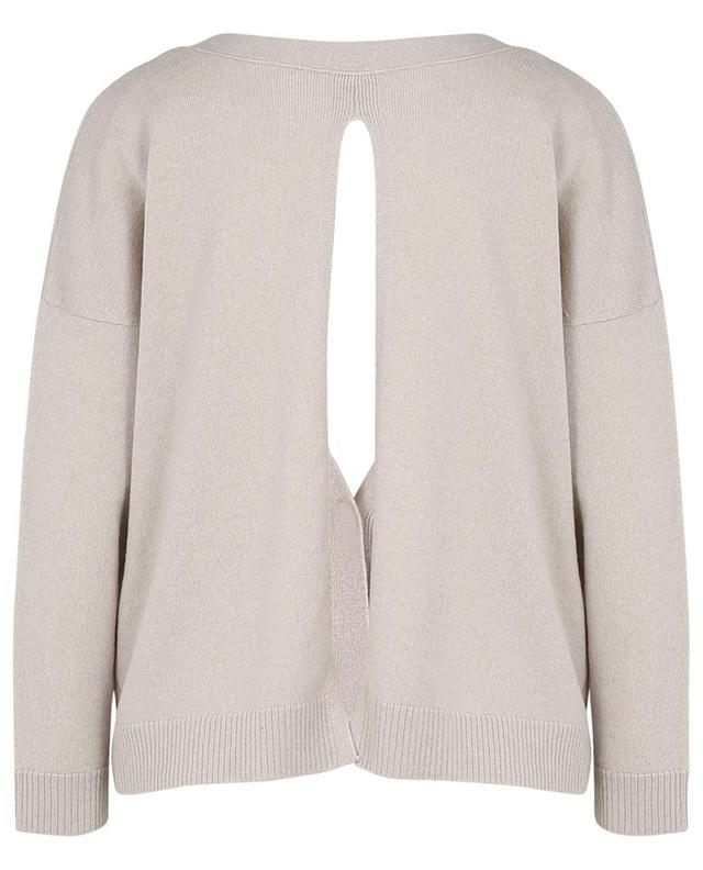 Soft Volumes V-neck cashmere cardigan with back slit DOROTHEE SCHUMACHER
