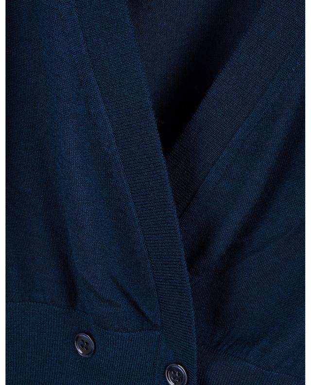 Cardigan fin à col V et double boutonnière Sophisticated Softness DOROTHEE SCHUMACHER