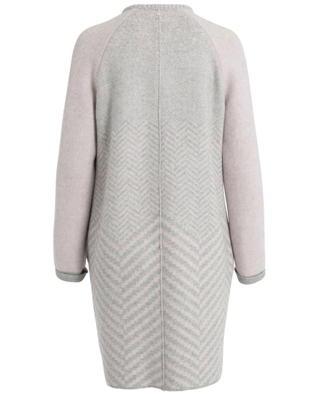 Wool, alpaca, silk and cashmere coat LORENA ANTONIAZZI