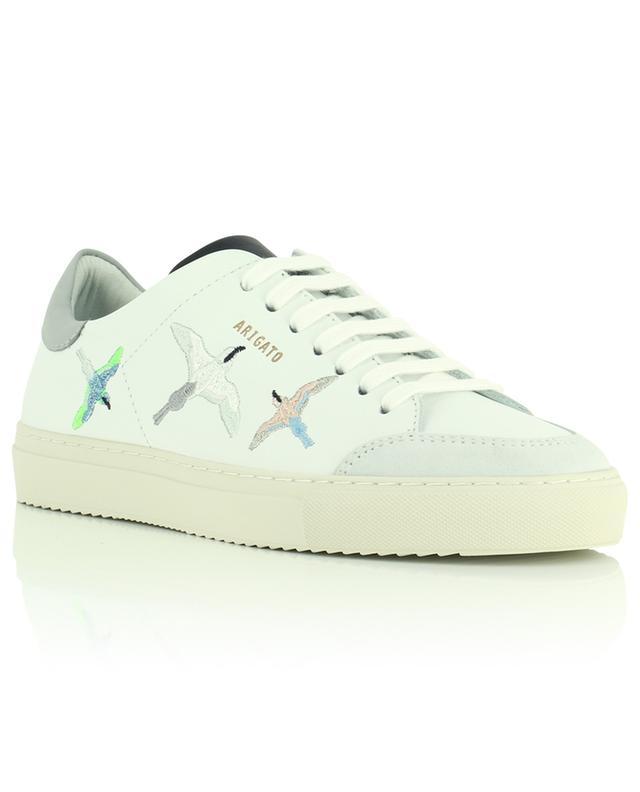 Ledersneakers mit Vögeln Clean 90 Bird AXEL ARIGATO