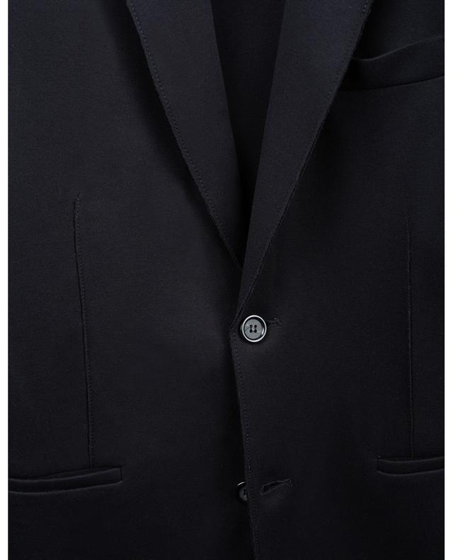 Blazer à boutonnière simple en jersey PAOLO PECORA