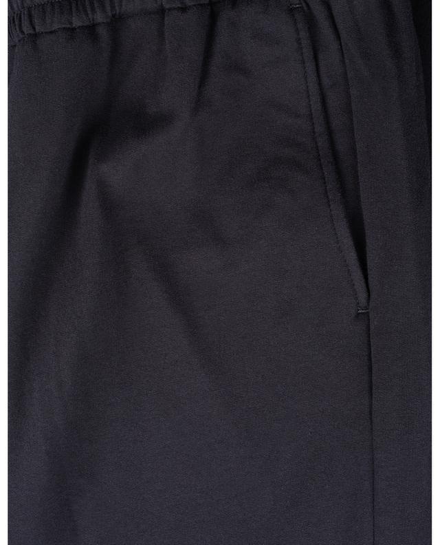 Pantalon de jogging en jersey de coton et de laine PAOLO PECORA