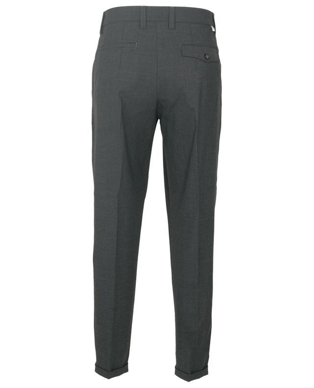 Pantalon raccourci en laine mélangée PAOLO PECORA