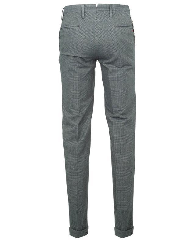 Pantalon à carreaux en coton Gillsans Worn Out PT TORINO